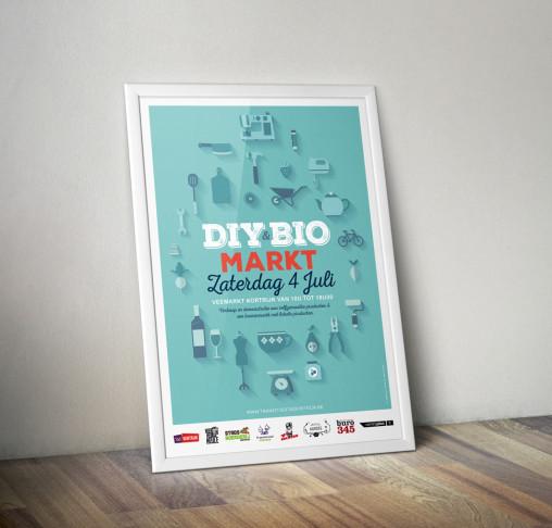 Poster ontwerp voor DIY markt.